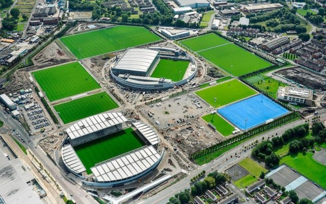Manchester City New Football Academy